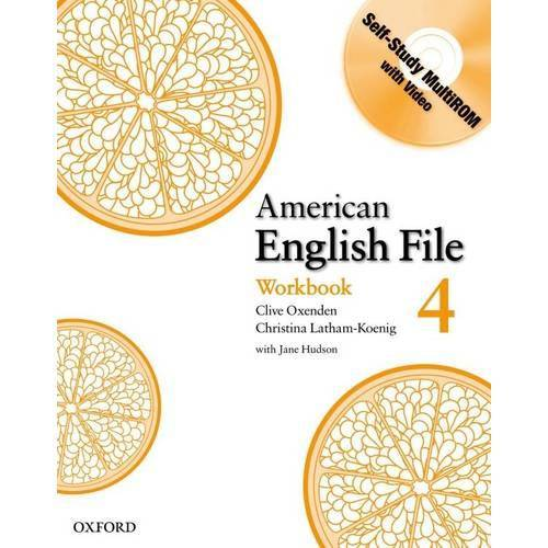 American English File 4 Wb With Cd-Rom