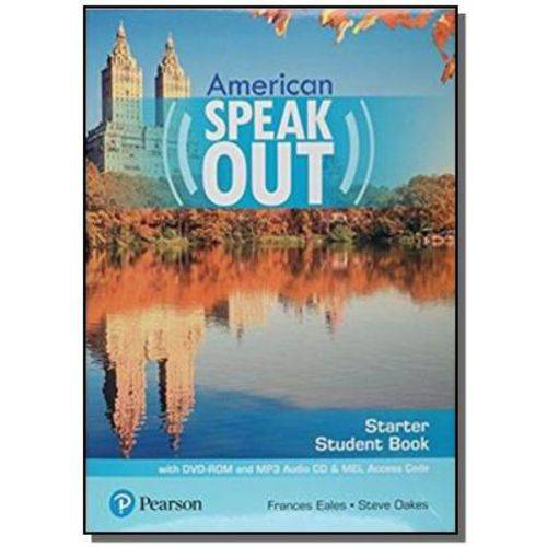 American Speakout Starter Sb With DVD-rom And Myenglishlab - 2nd Ed