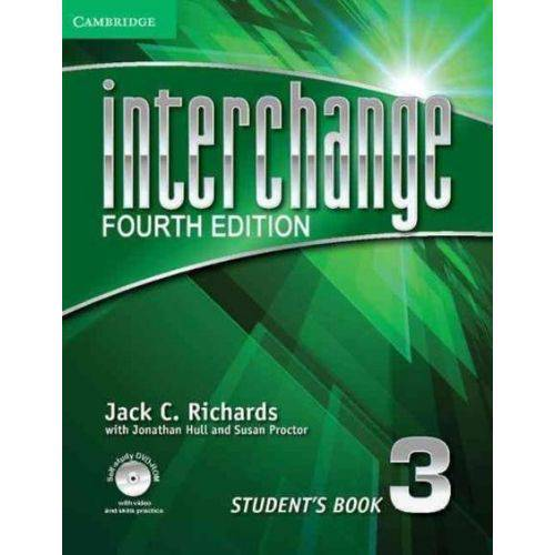Interchange 3 - Students Book With DVD-ROM