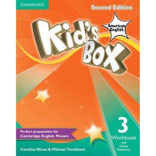 Kids Box 3 Wb With Online Resources - 2nd Ed - American