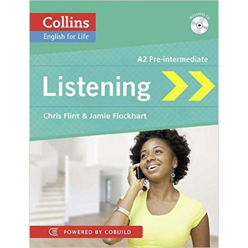 Listening A2 Pre-Intermediate - Collins English For Life - Book With Mp3 Cd - Collins