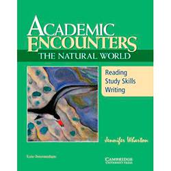 Livro - Academic Encounters: The Natural World Student's Book