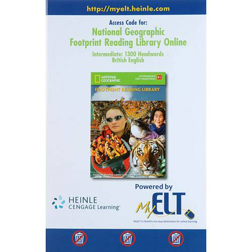 Livro - Access Code For: National Geographic: Footprint Reading Library Online - Intermediate: 1300 Headwords (British English)