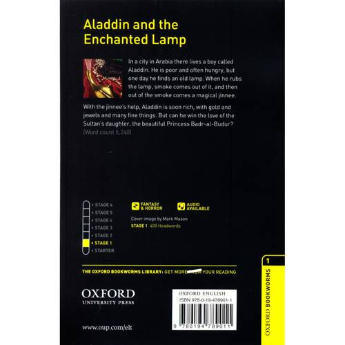 Livro - Aladdin And The Enchanted Lamp - CD Pack - Level 1