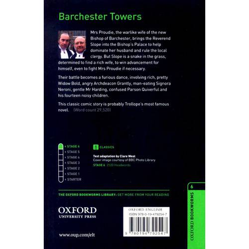 Livro - Barchester Towers - Level 6
