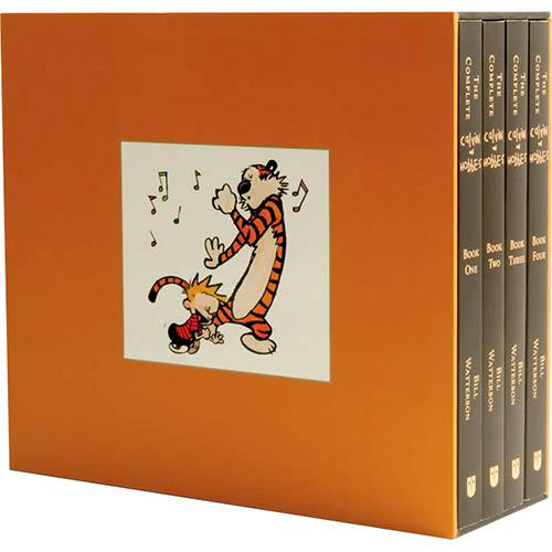 Livro - Box Set - The Complete Calvin And Hobbes