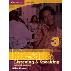 Livro - Cambridge English Skills Real Listening And Speaking 3 Without Answers