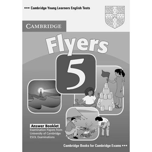Livro - Cambridge Young Learners English Tests Flyers 5 Answer Booklet