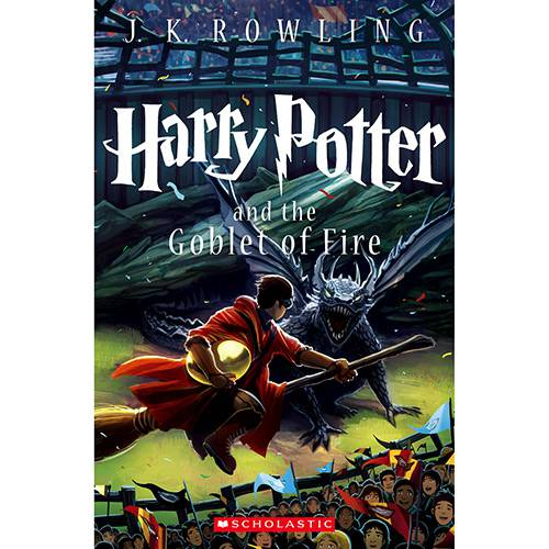 Livro - Harry Potter And The Goblet Of Fire