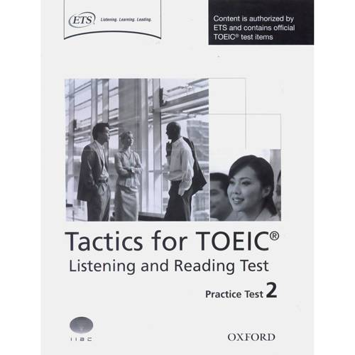 Livro - Tactics For TOEIC: Listening And Reading Practice Test 2