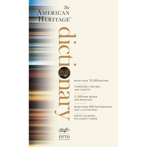 Livro - The American Heritage Dictionary: Fifth Edition (American Heritage Dictionary)