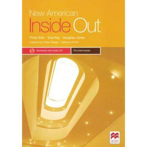 New American Inside Out Pre-intermediate Wb With Cd - 2nd Ed